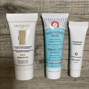 Bundle of 3 Face Exfoliant Polish